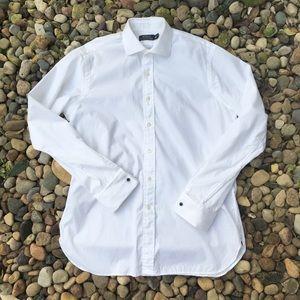 Ralph Lauren Polo White Oxford Size Large 16 Neck